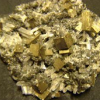 Golden Pyrite